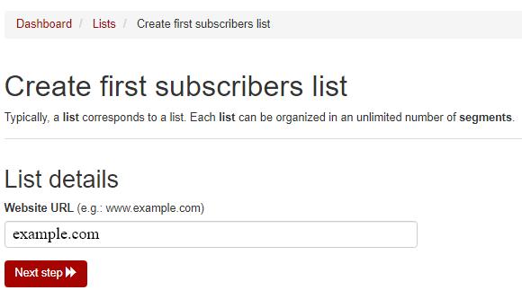 insert website domain